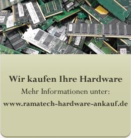 Wir kaufen Ihre Hardware